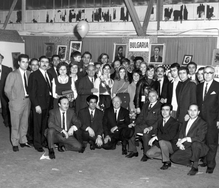 Presentation of the Bulgarian National Committee at the Exhibition of Nationalities, Navy Pier, Chicago, November 1968