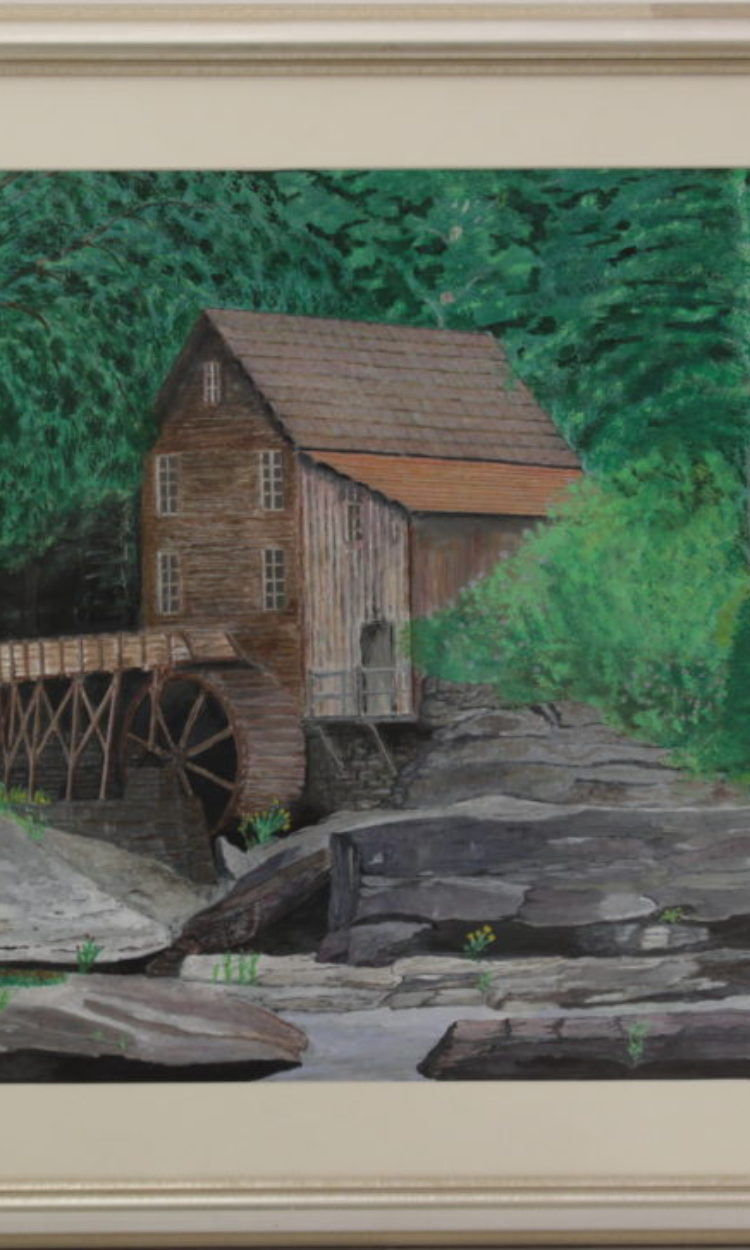 Title: Old Mill